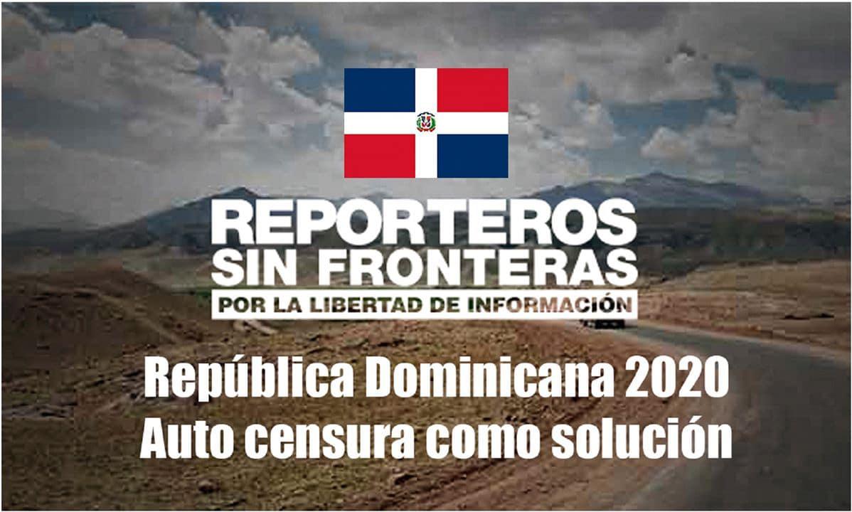RD entre países que violaron libertad de prensa en 2020