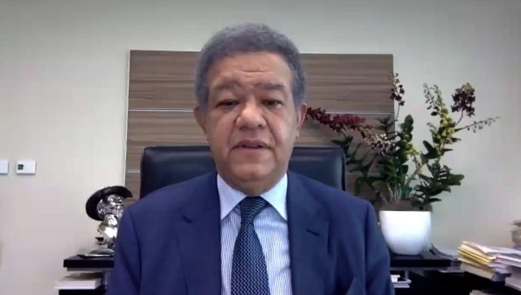 Leonel dice situación RD demanda gobierno unidad nacional