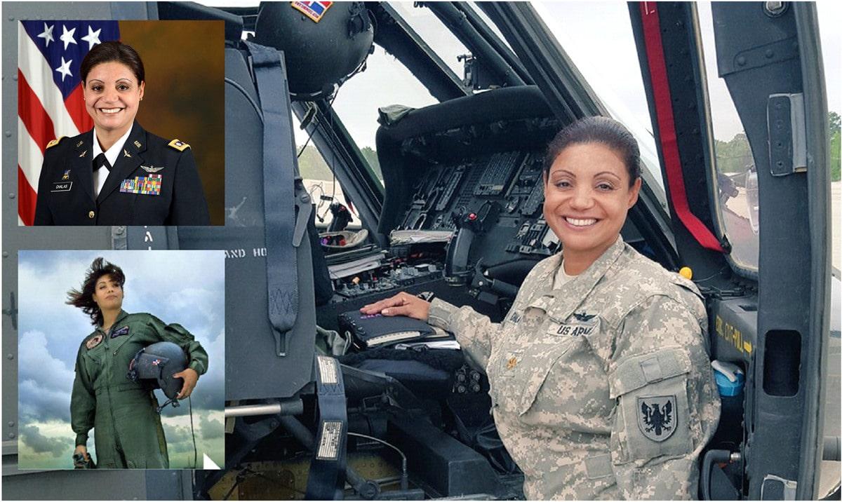 Militar dominicana resalta triunfos como inmigrante en EE.UU.