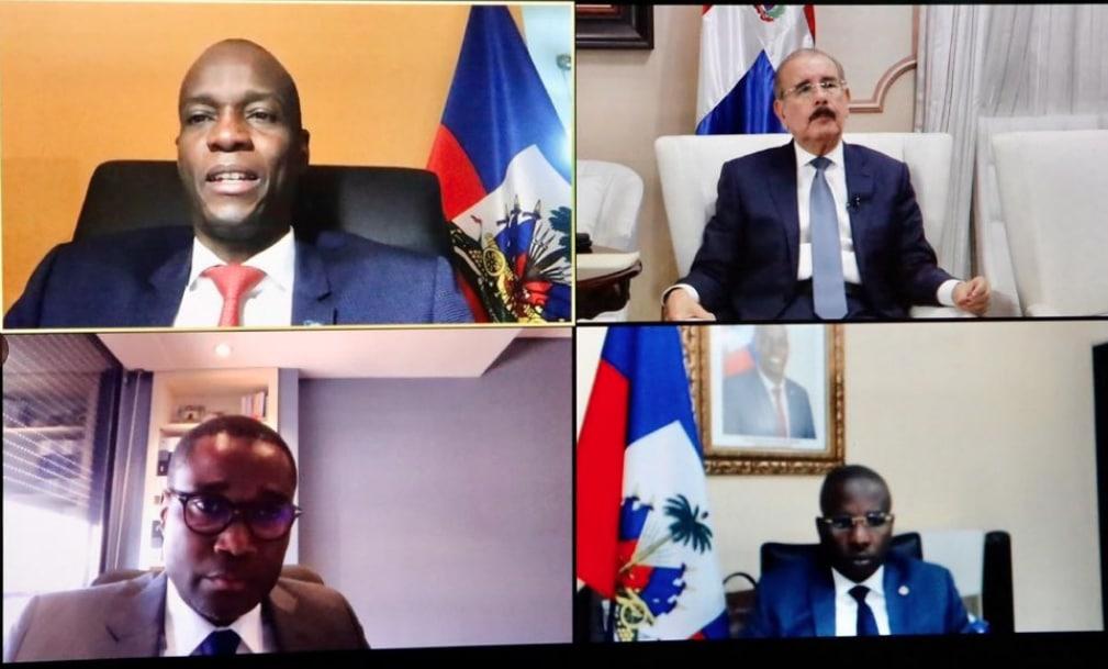 Medina y Moïse tratan sobre RD y Haití