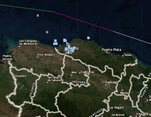 27 temblores de tierra hoy entre Villa Isabela y Luperón