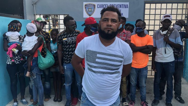 17 haitianos eran transportados ilegalmente