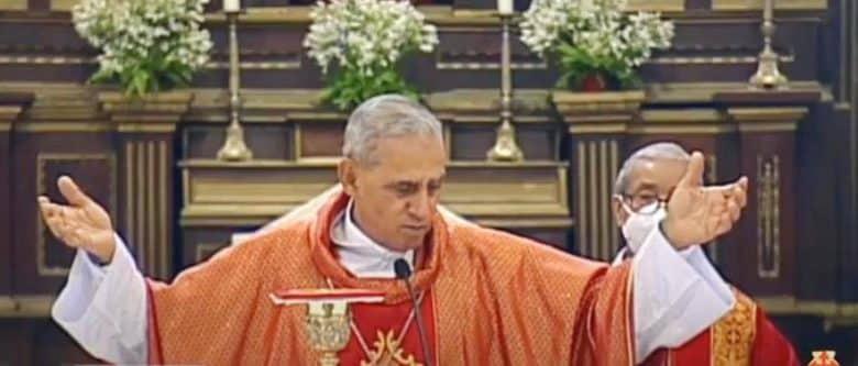 Arzobispo pide orar por autoridades electas