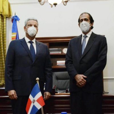 Montalvo y  Macarrulla sostienen primer encuentro para proceso transición