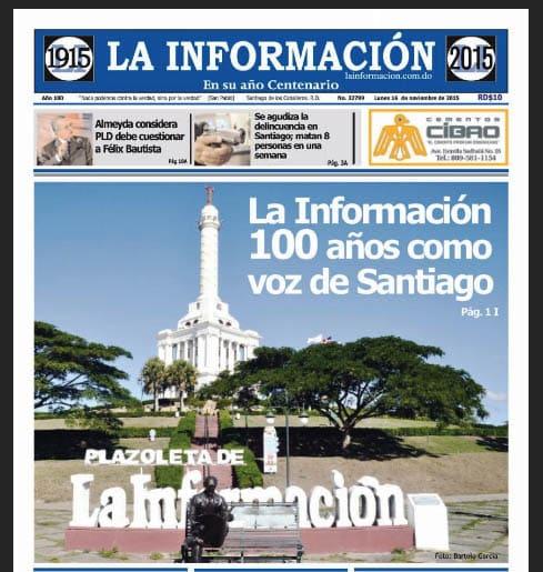 Periódico La Información circulará en formato tabloide