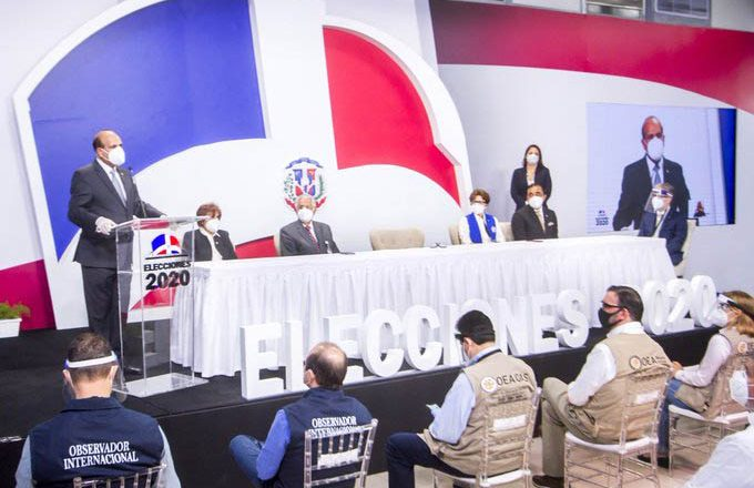"""Presidente JCE: """"Nadie se puede declarar ganador de las elecciones"""""""