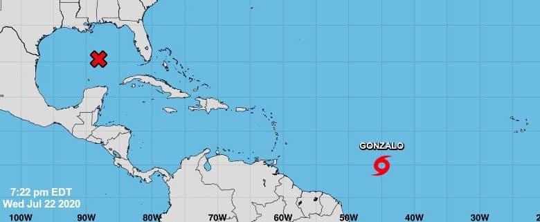 Gonzalo podría convertirse en huracán en las próximas horas