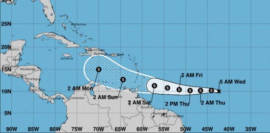 tormenta tropical gonzalo