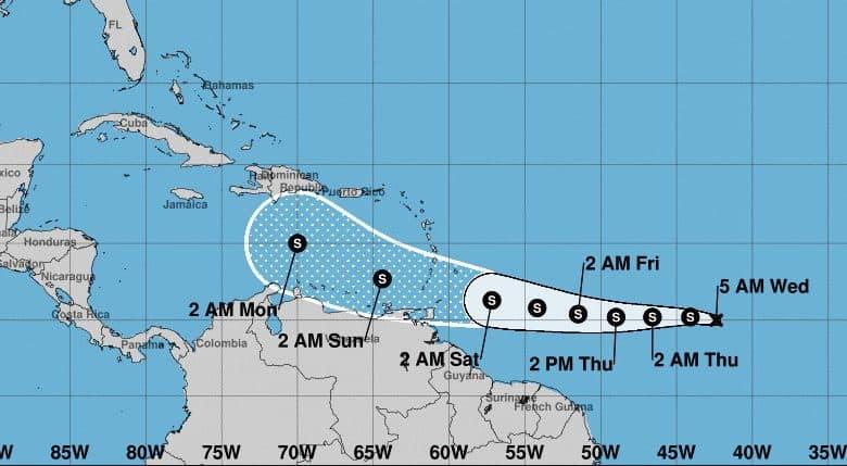 Se forma la tormenta tropical Gonzalo