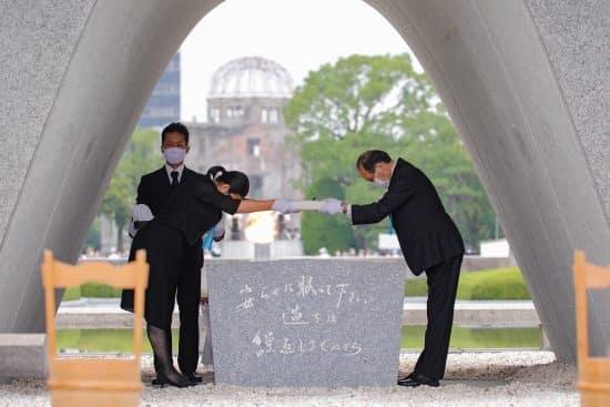 JAPON-HIROSHIMA-BOMBA ATOMICA-75 ANIVERSARIO