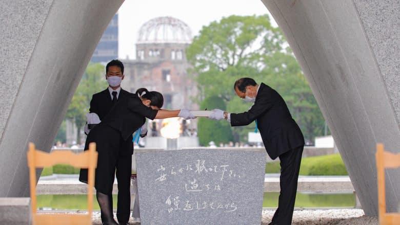 Japón conmemora el 75º aniversario del bombardeo atómico contra Hiroshima