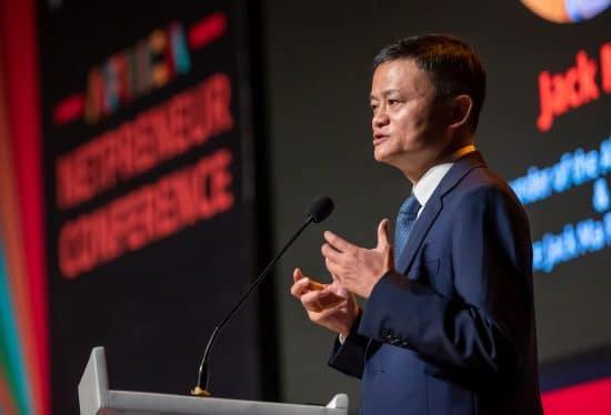 Jack Ma, fundador del gigante de internet Alibaba de China,