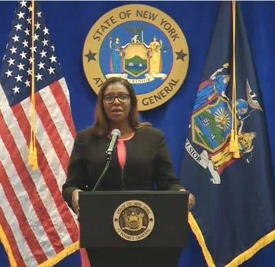 Fiscal general de Nueva York busca disolver Asociación Nacional del Rifle