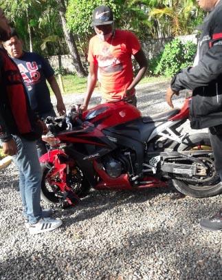 accidente motocicleta jarabacoa