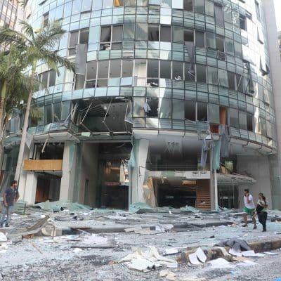 Aumenta a 154 número de muertos por explosiones en Beirut