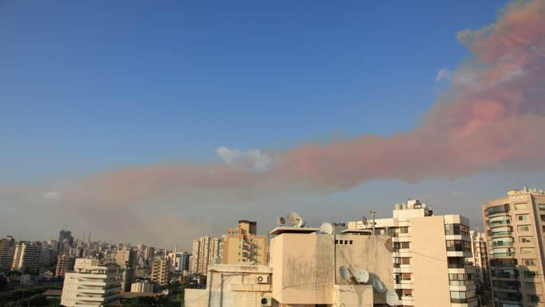 Explosiones en Beirut dejan más de 25 muertos y 2.500 lesionados