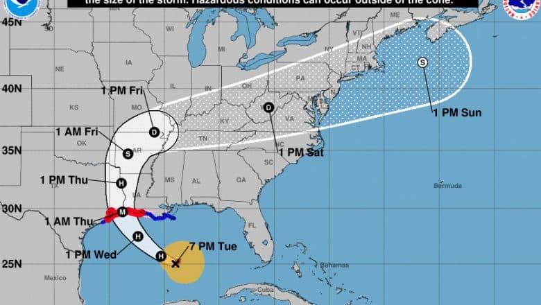Emiten alertas de huracán mientras Laura se acerca a EE.UU.