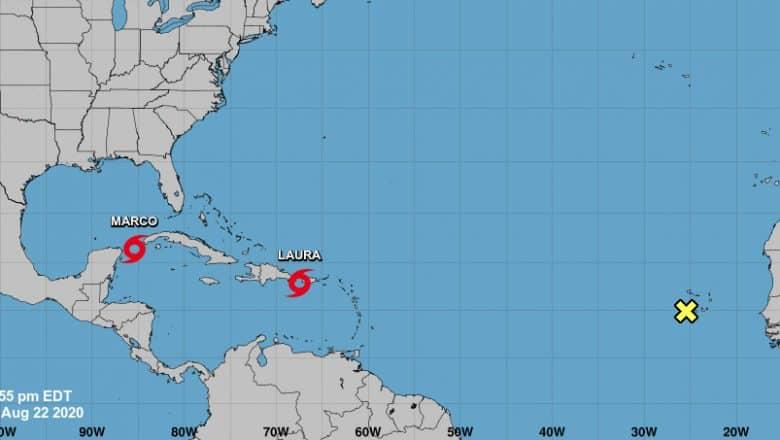 Cuba vigila curso de tormentas tropicales Marco y Laura