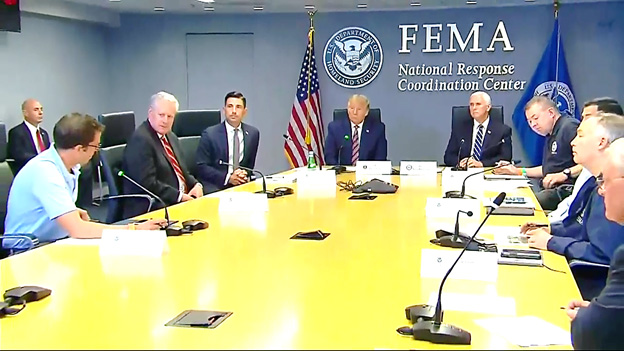 Trump visitará estados azotados por el huracán Laura