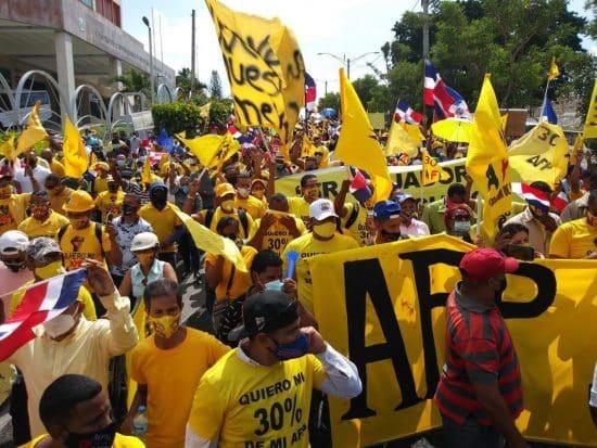 protesta 30 por ciento afp