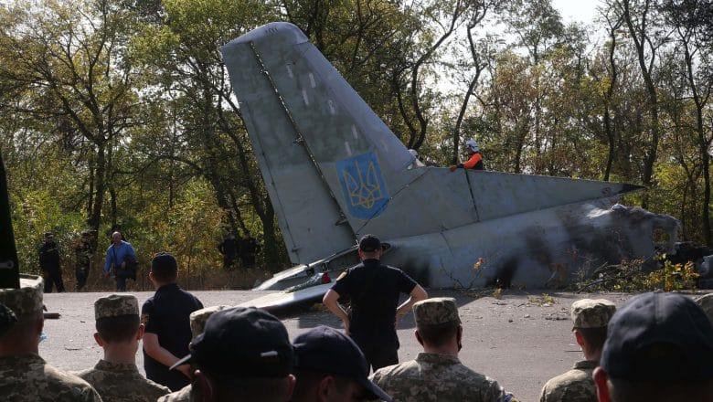 26 muertos accidente de avión militar en este de Ucrania