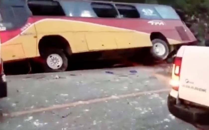 accidente autobus chiapas méxico