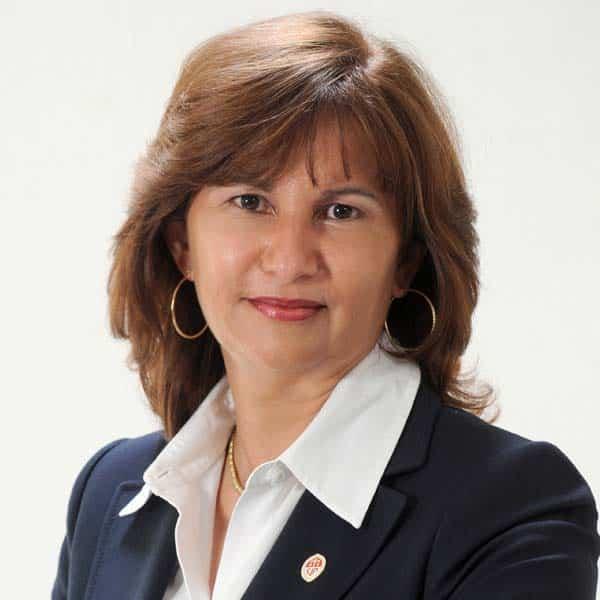 doctora Rosalía Pérez miembros jce