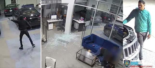foto policía ladrones de vehículos