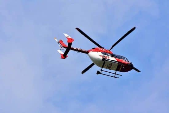 helicoptero de emergencia