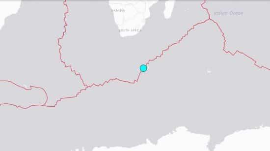 sismo sur de africa