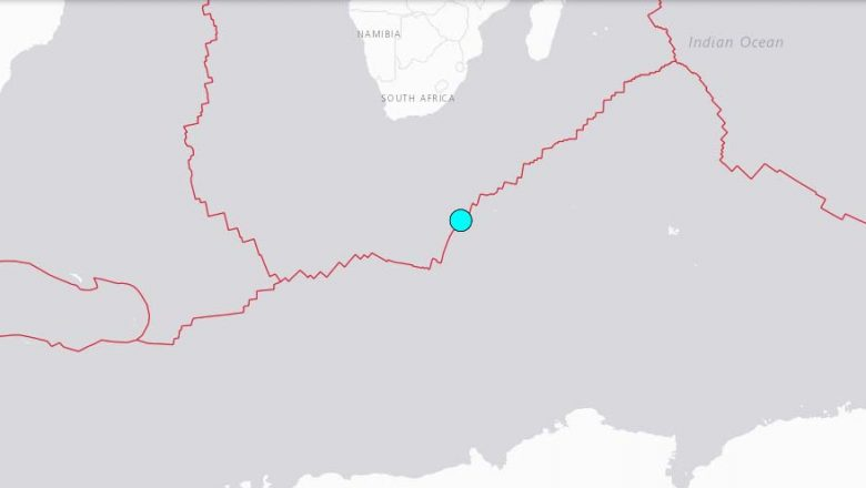 Sismo de magnitud 6,2 sacude sur de Africa