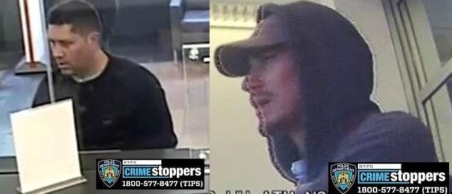 Dos delincuentes roban banco comercial en Queens
