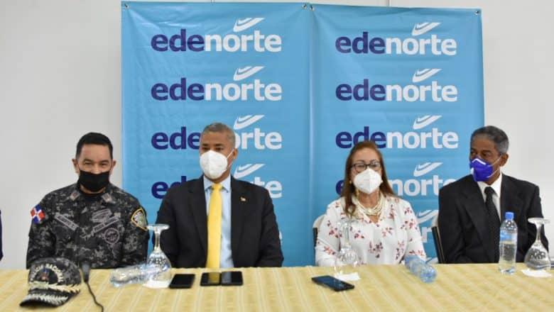 Edenorte inicia iluminación entradas y salidas municipios Cibao
