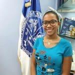 Esther Carolina estudiante uasd santiago