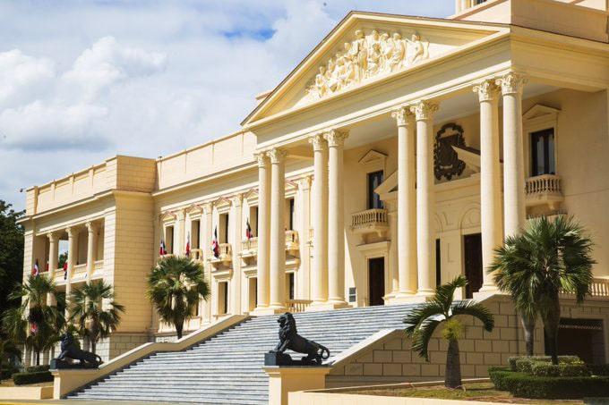 Palacio Nacional toque de queda