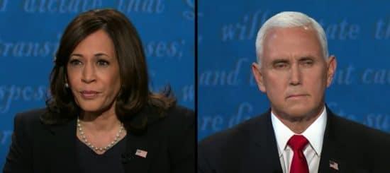 Pence y Harris debate