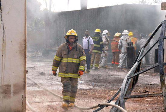 incendio envasadora glp licey al medio