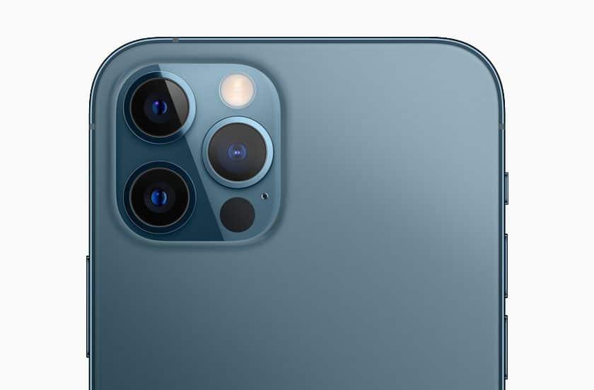 iPhone 12 Pro Max camara