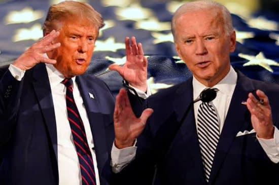 cancelan segundo debate trump bide