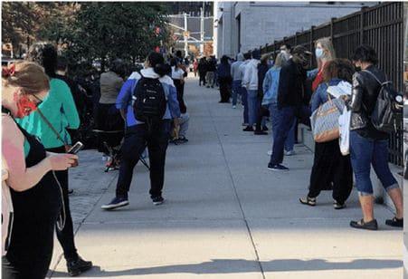Dominicanos sufragan en elecciones tempranas en Nueva York