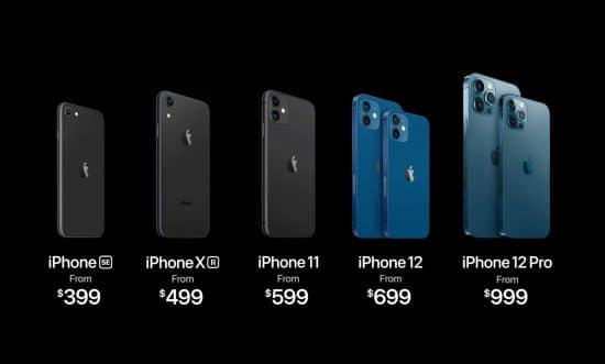 precios iphone 12