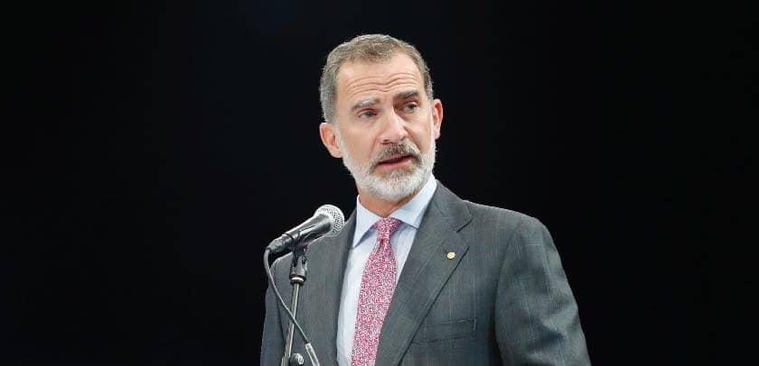 Rey de España pide evitar pesimismo en año difícil por COVID-19