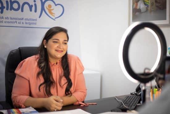 Alicia Lopez-penha, Técnica nacional de atención a la discapacidad en el INAIPI