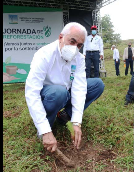 ETED aporta preservación  flora y fauna San Cristóbal