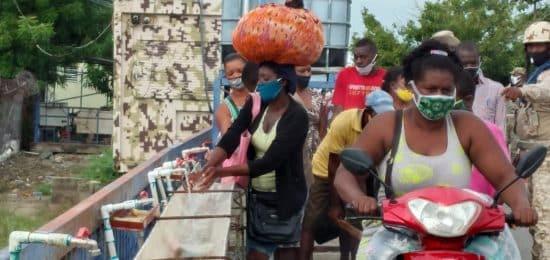 Mercado de Dajabón reinicia bajo estricto protocolo