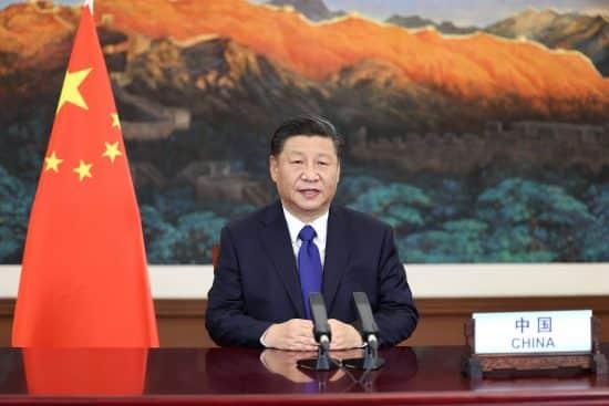 CHINA-XI JINPING-CUMBRE DE AMBICION CLIMATICA-DISCURSO