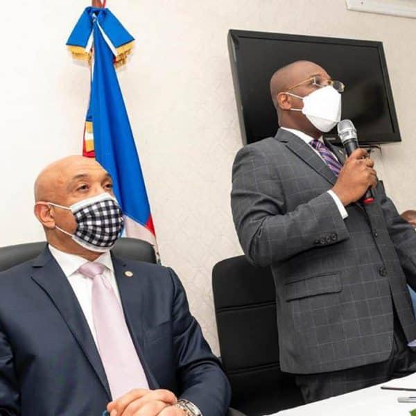Claude Joseph, se reúne con la diáspora haitiana