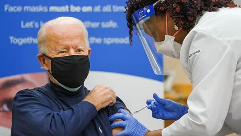 Biden recibe segunda dosis vacuna coronavirus
