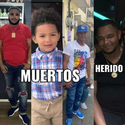 SFM: Matan a tiros a 3 entre ellos un niño