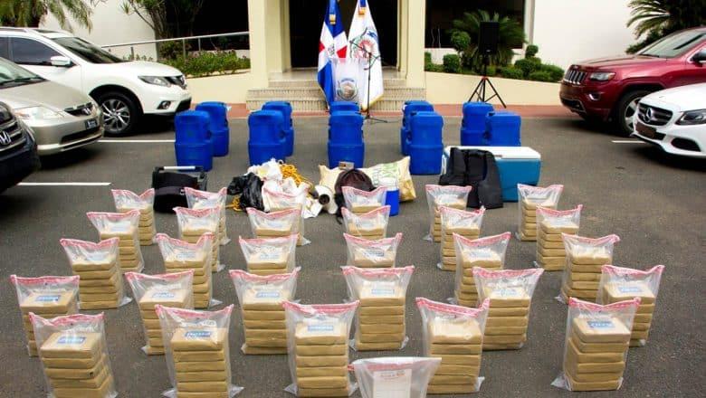 175 paquetes de cocaína costas La Altagracia